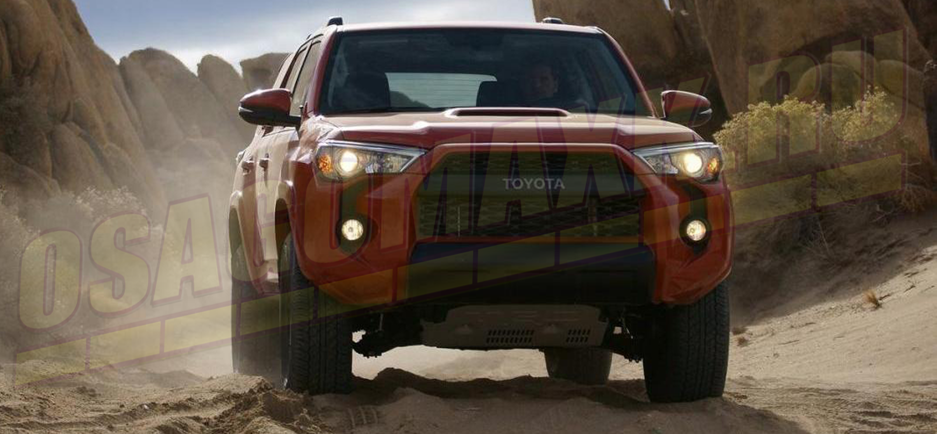 Toyota 4Runner - первое место в сегменте подержанных внедорожников