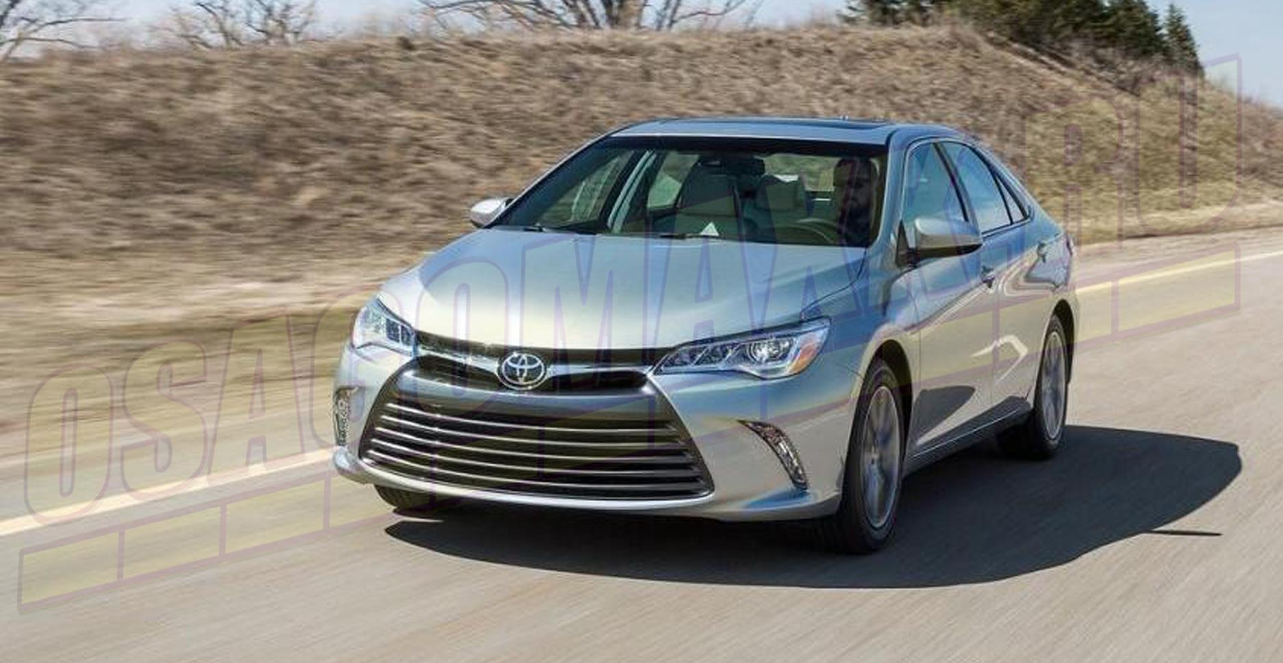 Toyota Camry Hybrid - второе место в сегменте гибридных автомобилей