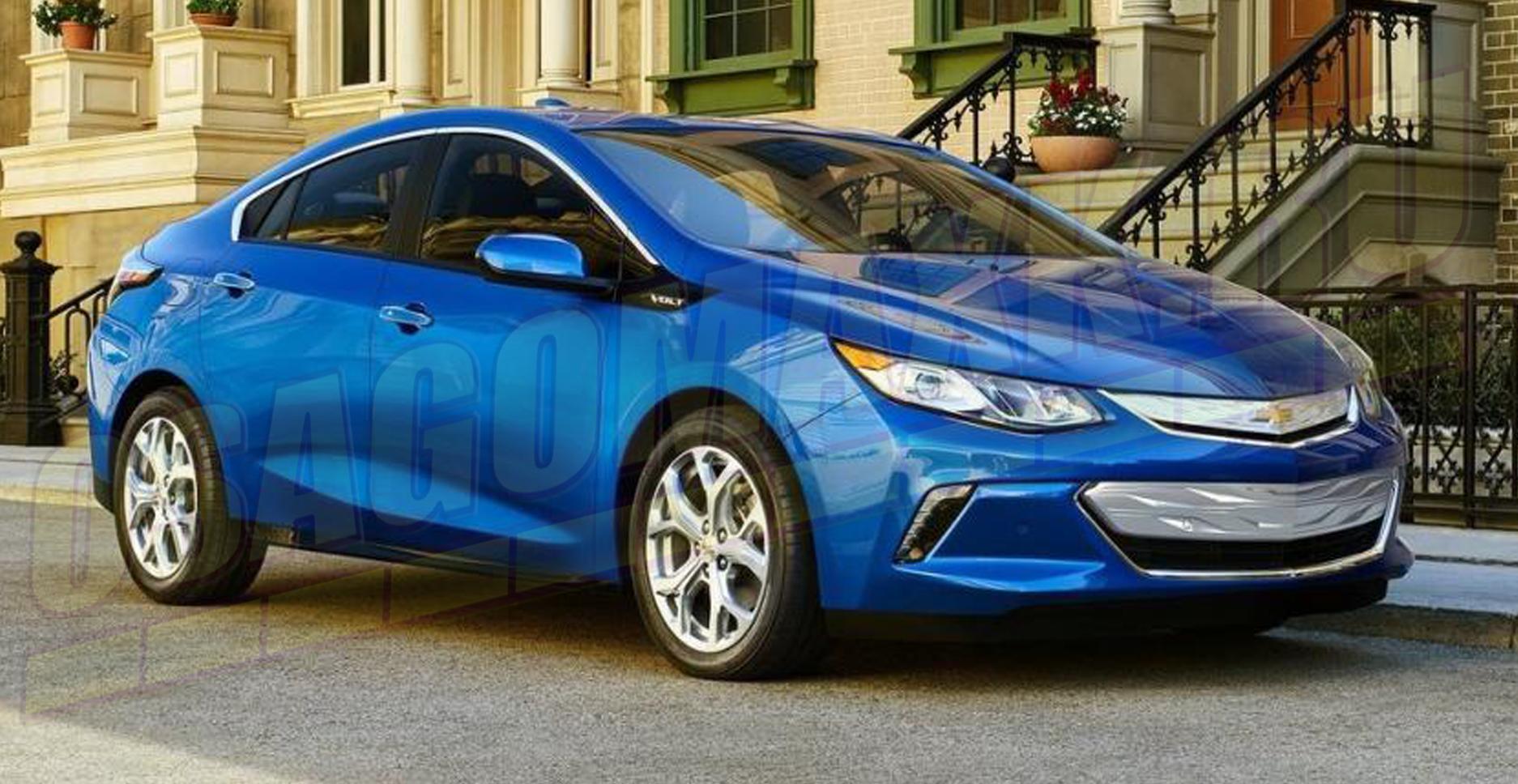 Chevrolet Volt - второе место в сегменте электрических автомобилей