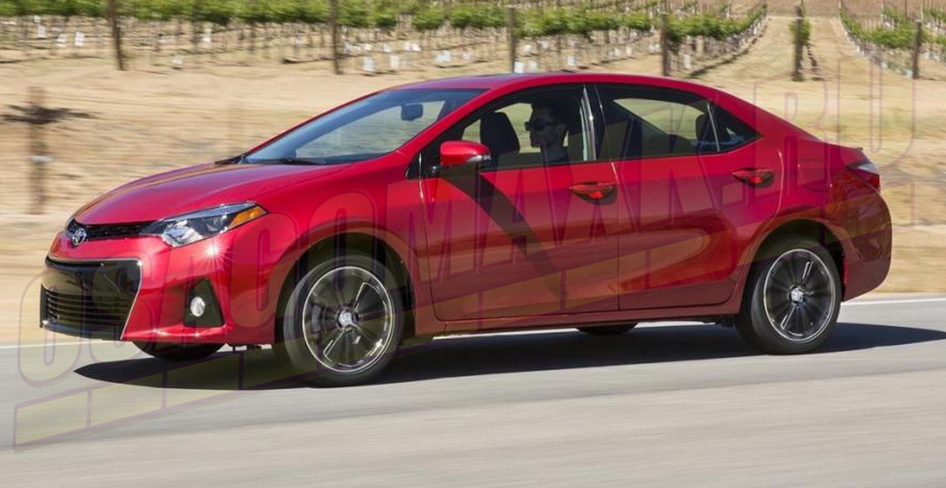 Toyota Corolla - второе место в сегменте подержанных седанов